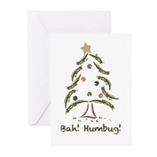 Bah! Humbug! Tree Greeting Cards (Pk of 20)
