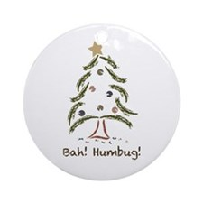 Bah! Humbug! Tree Ornament (Round)