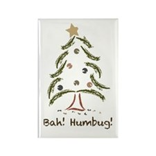 Bah! Humbug! Tree Rectangle Magnet (10 pack)
