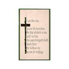 John 15 5 King James Bible 3'x5' Area Rug