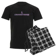 CROHNSTRONG™ - Logo t - shirts - Dark Colors Pajamas