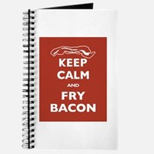 Keep Calm and Fry Bacon Journal