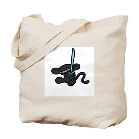 Minky Ninja Kick Tote Bag