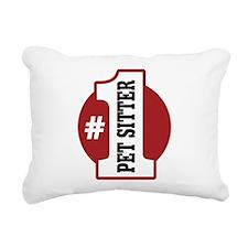 1petsitter-01.png Rectangular Canvas Pillow