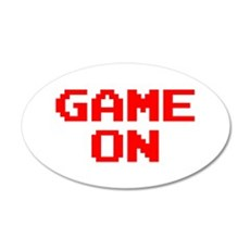 GAME ON Wall Sticker