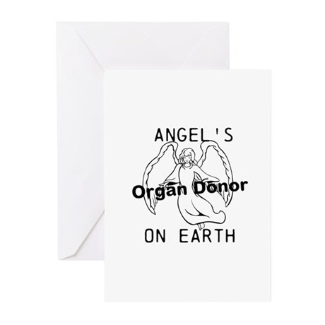 Angel on Earth Greeting Cards (Pk of 10)