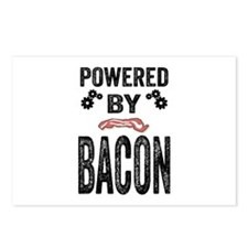 Powered by Bacon Postcards (Package of 8)
