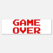 GAME OVER Sticker (Bumper)