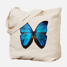 blue butterfly two Tote Bag