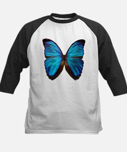 blue butterfly two Tee