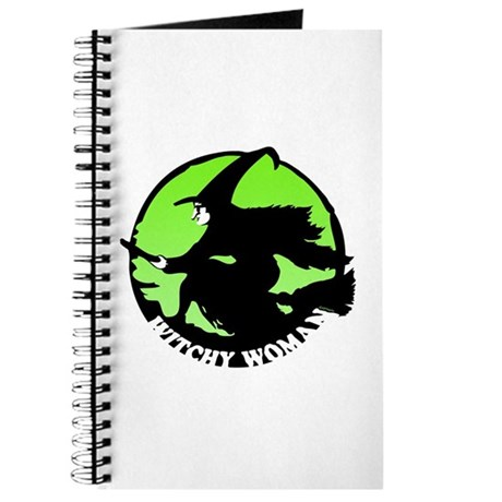 Witchy Woman (Green) Journal