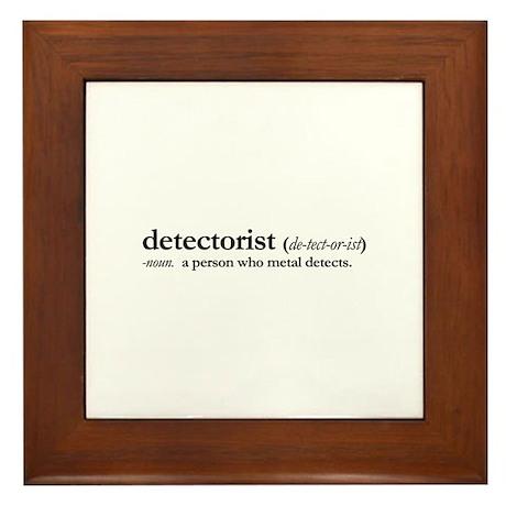 Detectorist Framed Tile