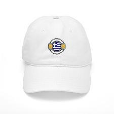Greece Water Polo Baseball Cap