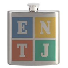 Myers-Briggs ENTJ Flask