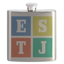 Myers-Briggs ESTJ Flask