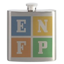 Myers-Briggs ENFP Flask