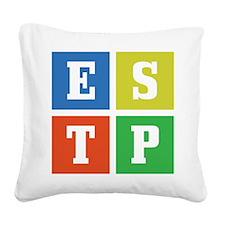 estp.png Square Canvas Pillow