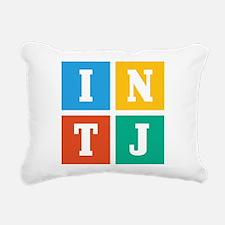Myers-Briggs INTJ Rectangular Canvas Pillow
