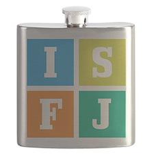 Myers-Briggs ISFJ Flask