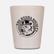 Hyena Society Logo Shot Glass