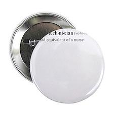 "Vet Tech Definition 2.25"" Button"