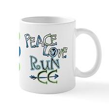Peace Love Run Cc Mug Mugs