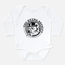 Cute Hyena Long Sleeve Infant Bodysuit