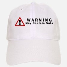 WARNING: May Contain Nuts! Baseball Baseball Cap