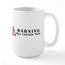 WARNING: May Contain Nuts! Mug