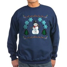 Ugly Holiday Sweater Funny Sweatshirt