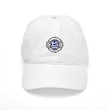 Greece Soccer Baseball Cap