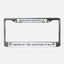 OES Grand Martha License Plate Frame