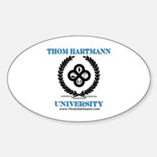 TH University Crest Decal