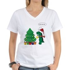 T-Rex hates Christmas Shirt
