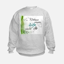 Without Music, Life Would Bb-by soda Sweatshirt