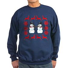 Ugly Holiday Sweater Funny Christmas Sweatshirt