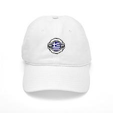 Greece Hockey Baseball Cap