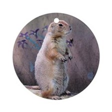 Prairie Dog Ornament (Round)