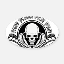 Fake Flesh Film Fest Oval Car Magnet