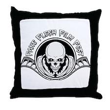 Fake Flesh Film Fest Throw Pillow