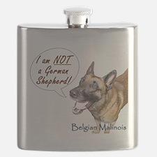 I am NOT a German Shepherd Flask