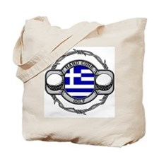 Greece Golf Tote Bag
