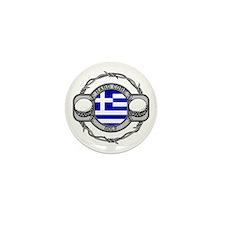 Greece Golf Mini Button (10 pack)