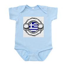 Greece Golf Infant Bodysuit