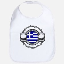 Greece Golf Bib