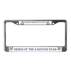 OES Custom 2013 License Plate Frame