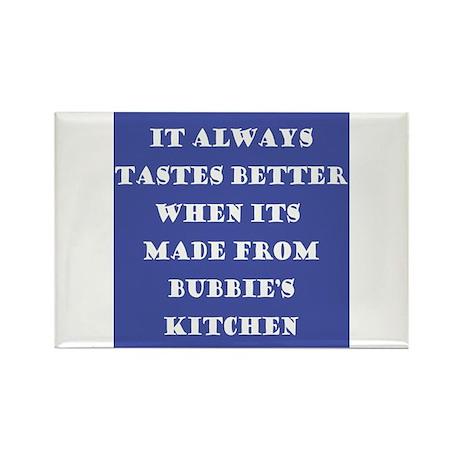 Bubbie's Kitchen Rectangle Magnet