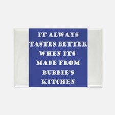Bubbie's Kitchen Rectangle Magnet