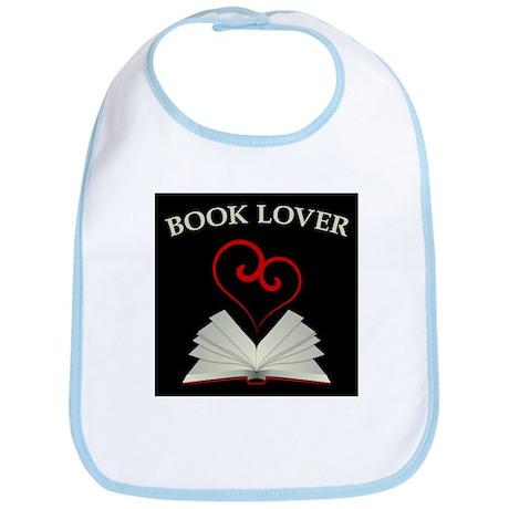 Book Lovers Stuff Logo Bib