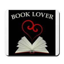 Book Lovers Stuff Logo Mousepad